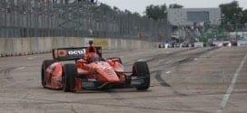 2014 IndyCar Houston 2 Pagenaud on track