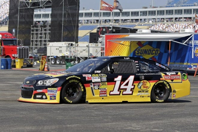2014 Kentucky CUP Tony Stewart car CIA