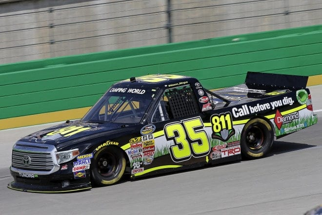 2014 Kentucky CWTS Mason Mingus truck CIA