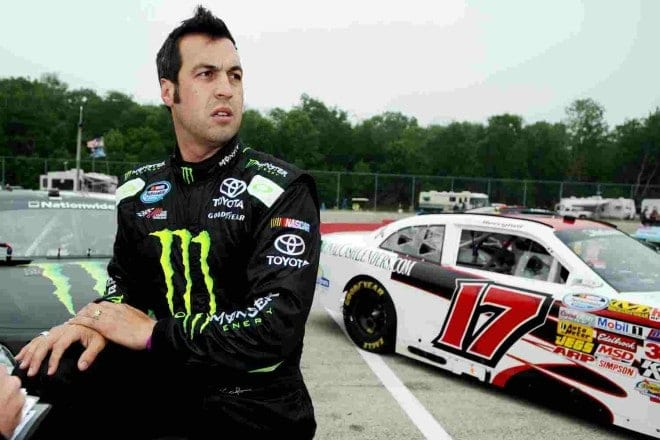 2014 Road America NNS Sam Hornish Jr. credit NASCAR via Getty Images