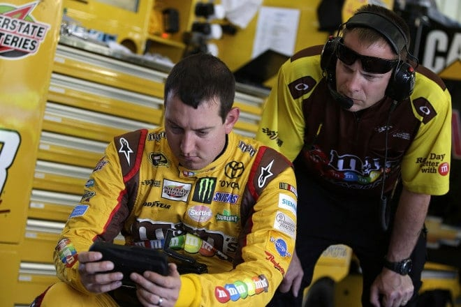 2014 Sonoma CUP Kyle Busch Dave Rogers CIA