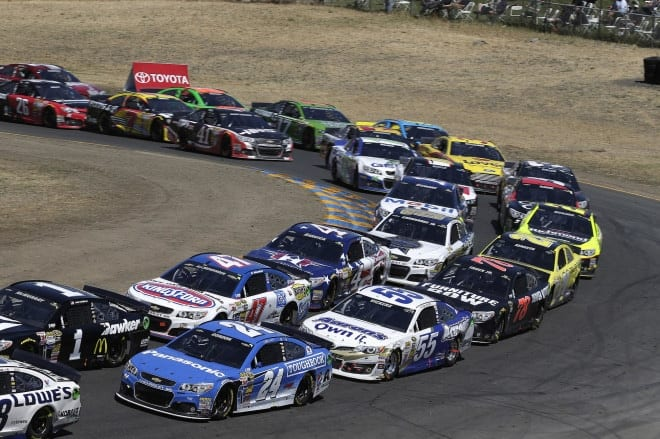 2014 Sonoma CUP pack racing CIA