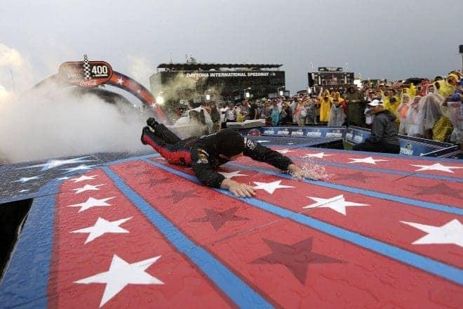 2014 Daytona II CUP Ryan Truex slip n slide CIA