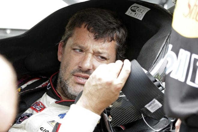 2014 Indianapolis CUP Tony Stewart puzzled CIA