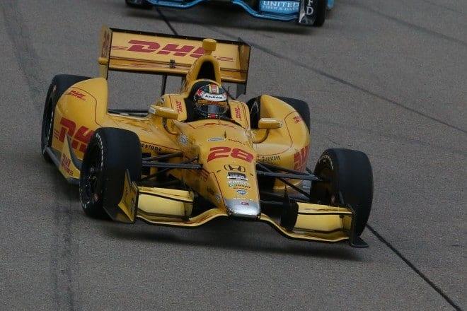 2014 IndyCar Iowa Ryan Hunter Reay
