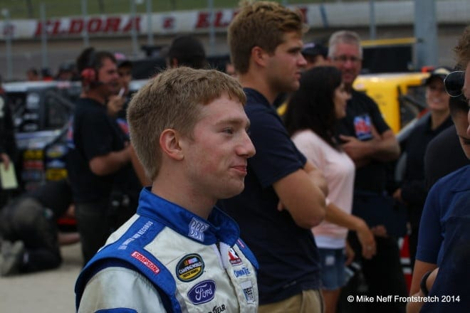 2014 Mudsummer Classic Eldora Speedway Camping World Trucks Mike Neff 303
