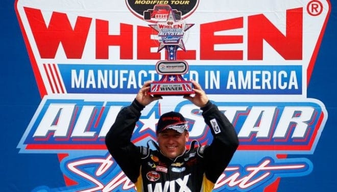 Ryan Newman wins Whelen Modified All Star race at New Hampshire Motor Speedway 2014 Getty Images