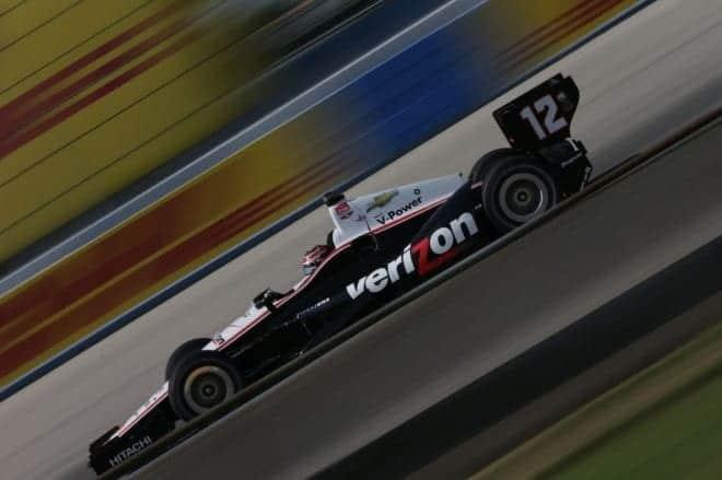 2014 IndyCar Milwaukee Will Power drama