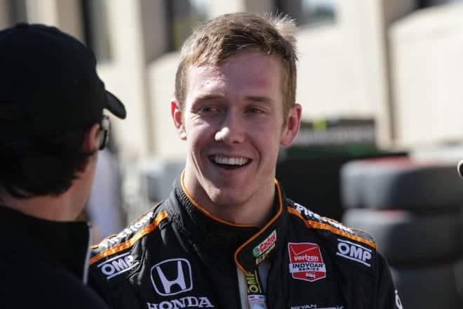 2014 IndyCar Sonoma Jack Hawksworth