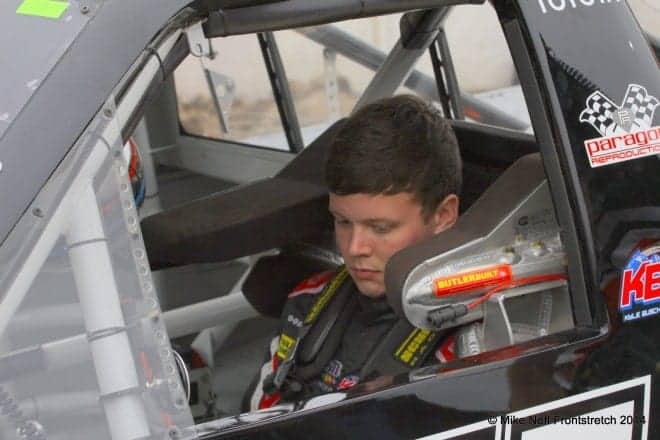 2014 Mudsummer Classic Eldora Speedway Erik Jones Camping World Trucks Mike Neff 263