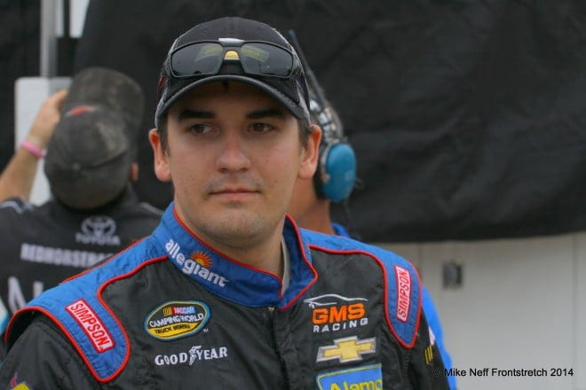 2014 Mudsummer Classic Eldora Speedway Joey Coulter Camping World Trucks Mike Neff 235