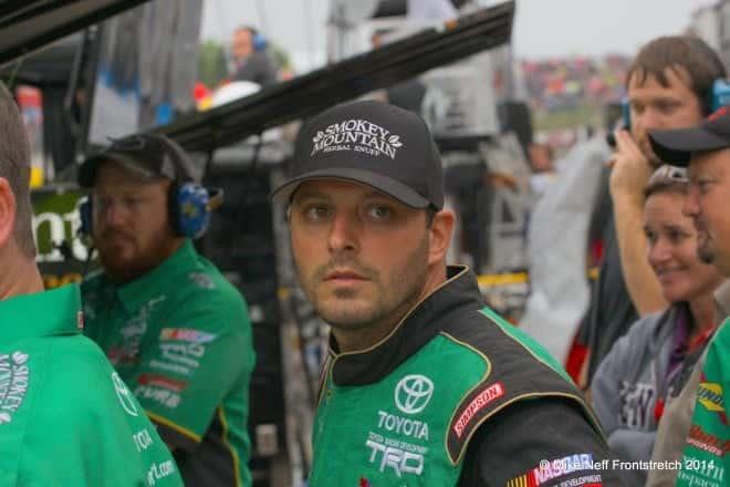 2014 Mudsummer Classic Eldora Speedway Johnny Sauter Camping World Trucks Mike Neff 353