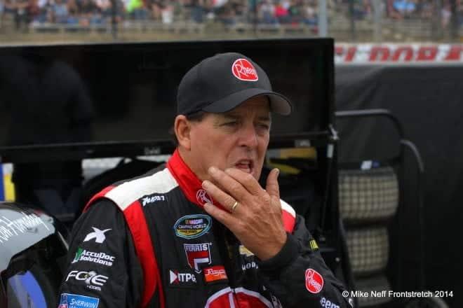 2014 Mudsummer Classic Eldora Speedway Ron Hornaday Jr. Camping World Trucks Mike Neff 301
