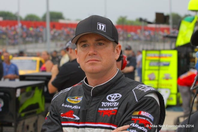 2014 Mudsummer Classic Eldora Speedway Timothy Peters Camping World Trucks Mike Neff 350
