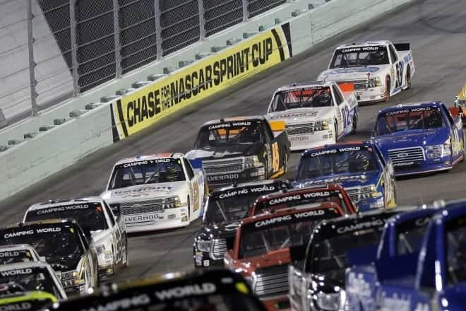 2014 Homestead CWTS pack racing CIA