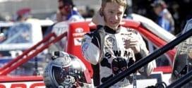 NASCAR Camping World Truck Series driverJohn Hunter Nemechek in the garage at Phoenix International Raceway