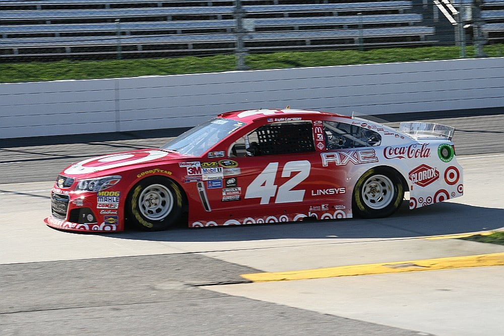 2015 Martinsville I CUP Kyle Larson car credit Amy Henderson