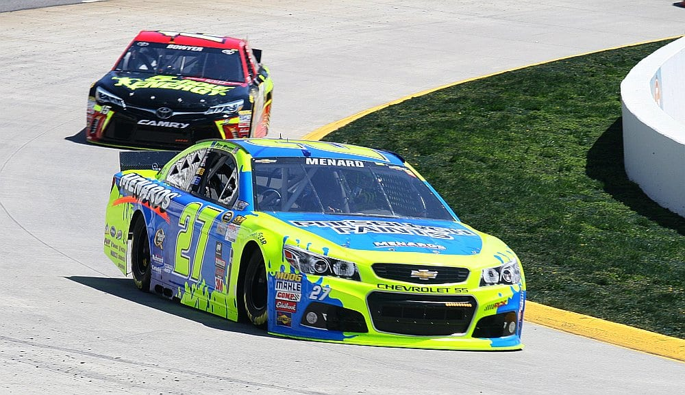 2015 Martinsville I CUP Paul Menard racing credit Amy Henderson