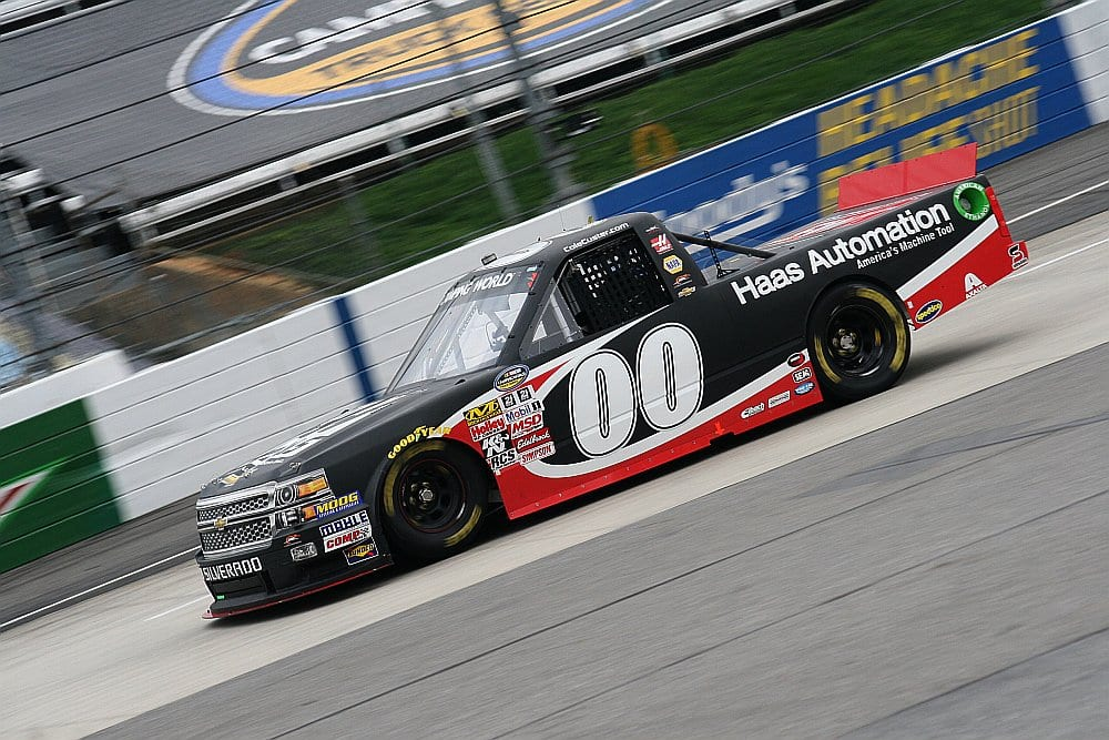 2015 Martinsville I CWTS Cole Custer truck credit Amy Henderson