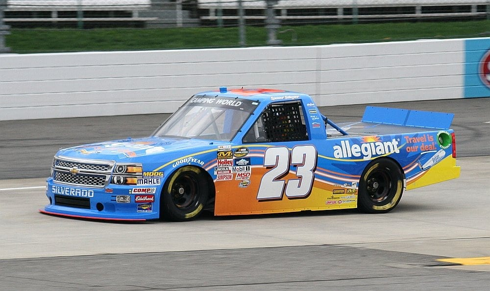 2015 Martinsville I CWTS Spencer Gallagher truck credit Amy Henderson