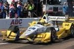 IndyCar 2015 St. Pete Simon Pagenaud pit lane Credit Chris Jones