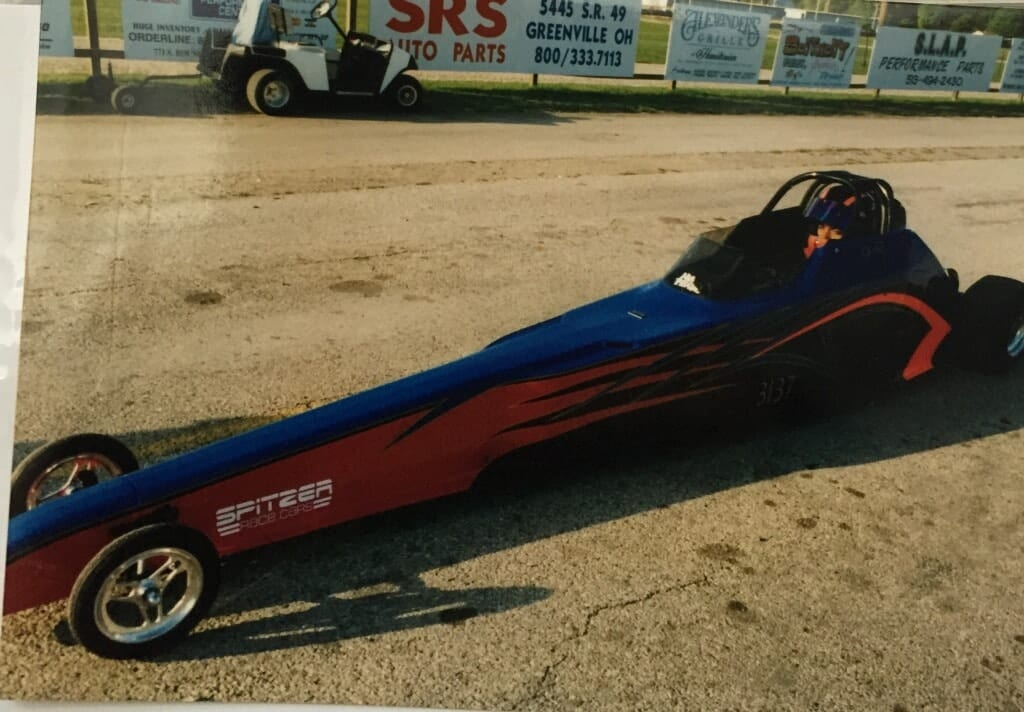 NHRA J.R. Todd Junior Dragster courtesy J.R. Todd and Kalitta Motorsports