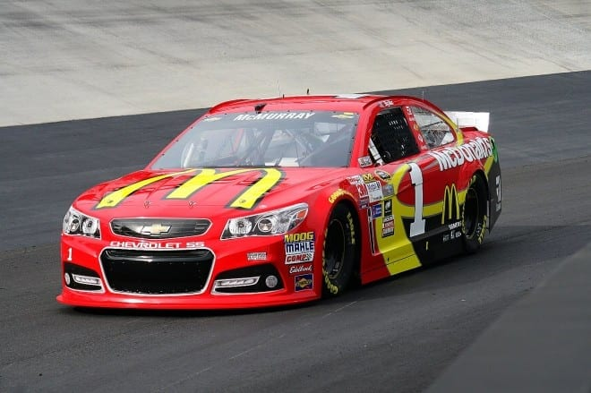 Jamie Mcmurray Cup Cars
