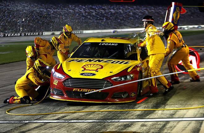 2015 Texas NSCS Joey Logano credit NASCAR via getty images