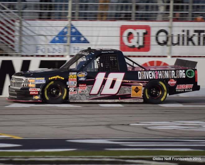 Atlanta Trucks 2015 Jennifer Jo Cobb Mike Neff