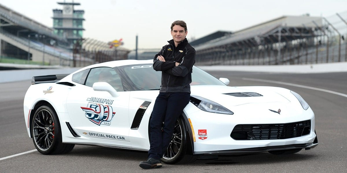 Jeff Gordon Indy 500 Pace Car Driver Indianapolis Motor Speedway
