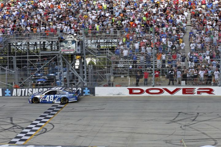 2015 Dover I CUP Jimmie Johnson wins CIA