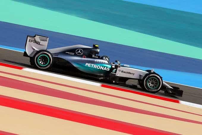 Nico Rosberg Mercedes Formel 1 GP Bahrain 17 April 2015