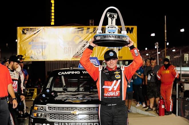 2015 CWTS Gateway Cole Custer Trophy NASCAR via Getty Images