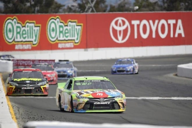 2015 Sonoma CUP Kyle busch pack racing CIA