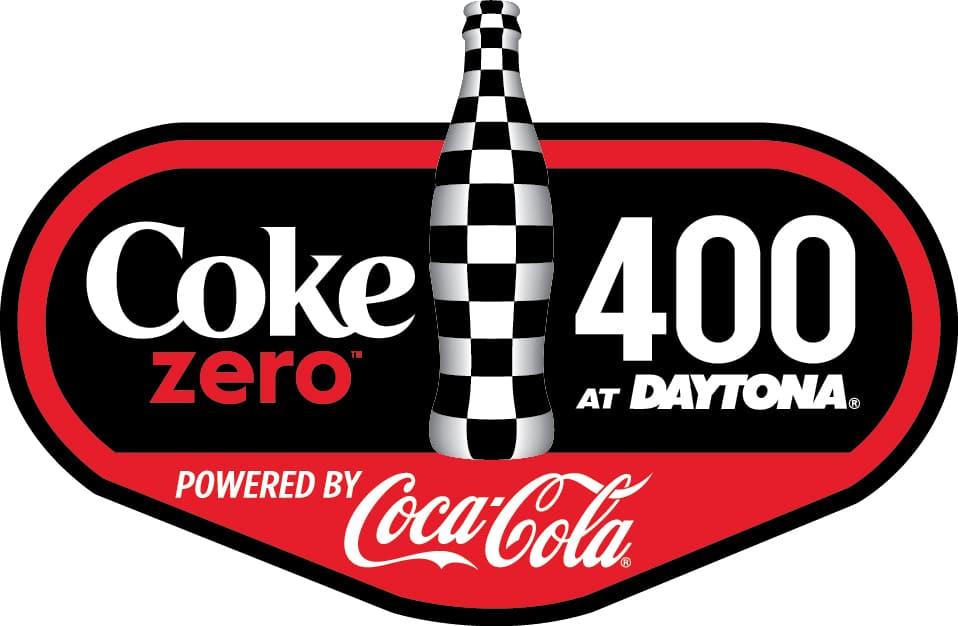 Coke Zero 400 Logo NASCAR