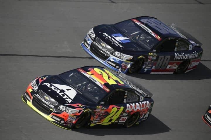 2015 Daytona II CUP Jeff Gordon Dale Earnhardt Jr racing CIA