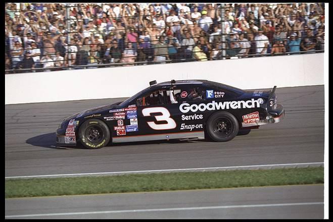 Dale Earnhardt Brickyard 400 1995