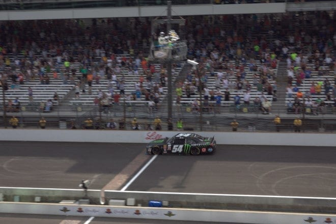 Kyle Busch Indianapolis XFINITY 2015 Mike Neff