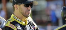 Matt Crafton at Michigan in August for Camping World Truck Series