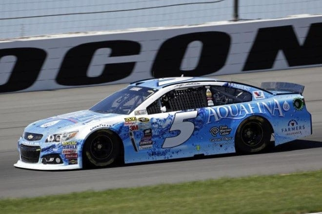 Two Time Pocono Winner Kasey Kahne Wrecks Out Of Windows 10 400