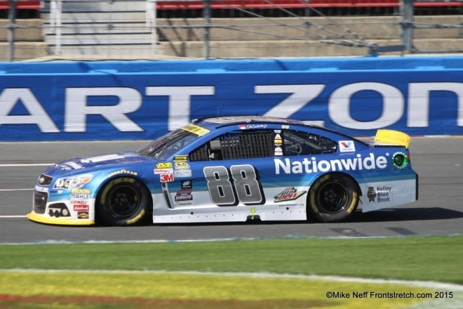 2015 Bank of America 500 Dale Earnhardt Jr Charlotte Cup Mike Neff