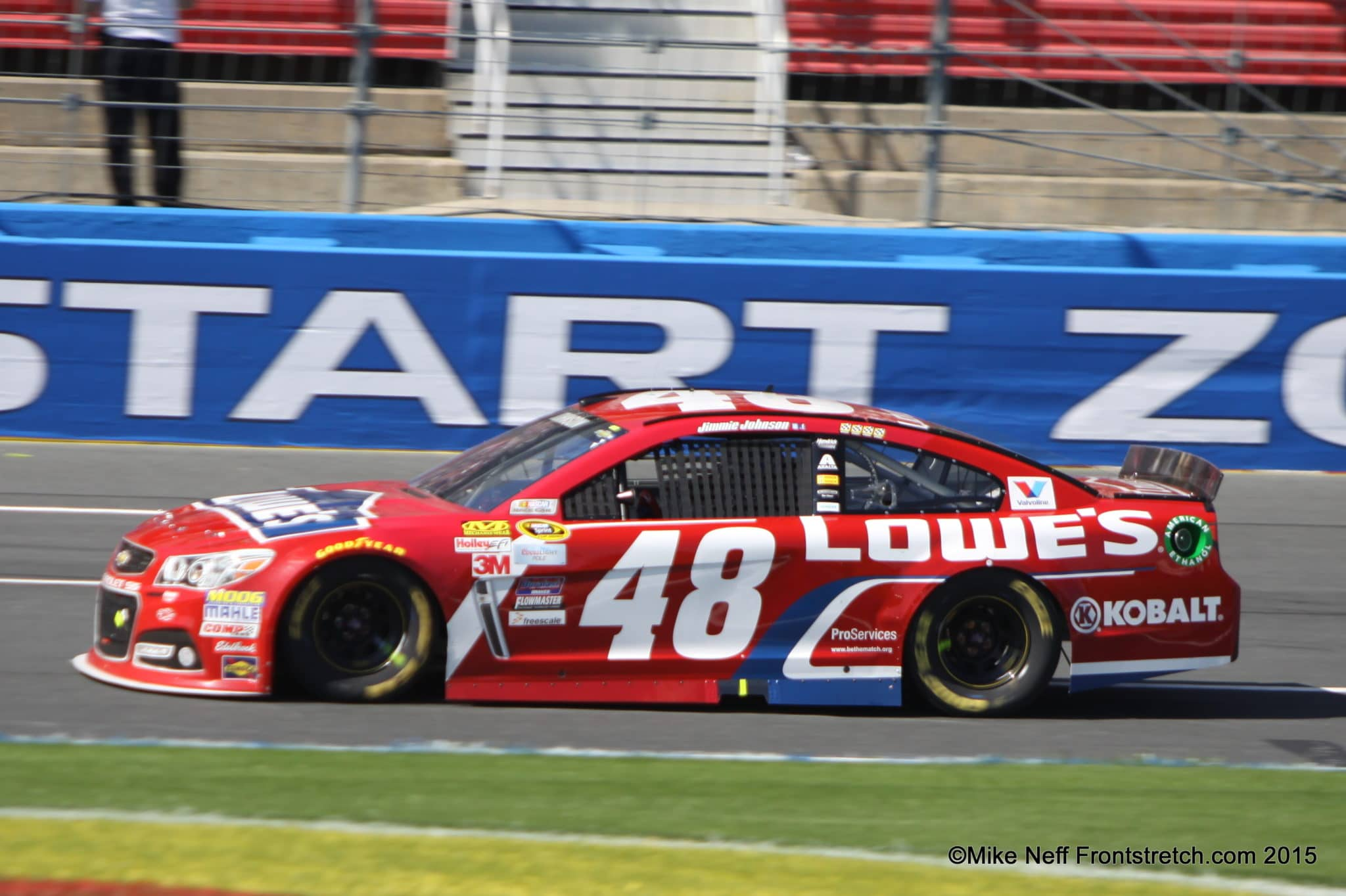 2015 Bank of America 500 Jimmie Johnson Charlotte Cup Mike Neff