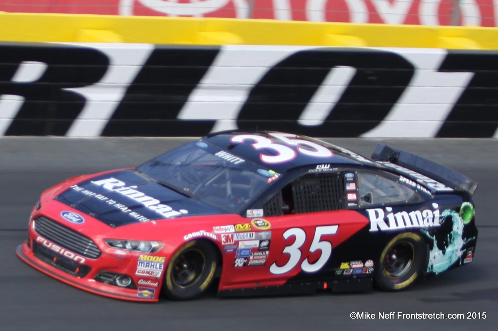 2015 Cole Whitt Bank of America 500 Charlotte Cup Mike Neff