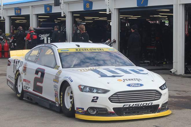 2015 Cup Kansas Speedway Car Garage Rick Lunkenheimer