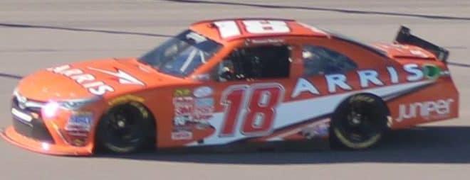 2015 Kansas Speedway NXS Daniel Suarez credit Rick Lunkenheimer