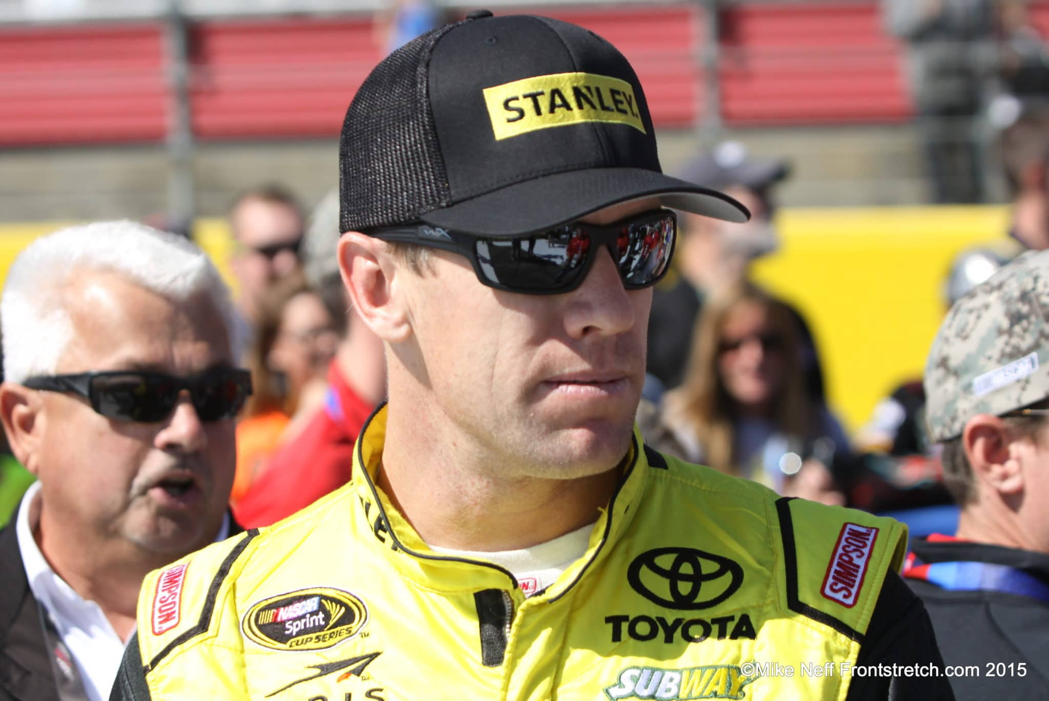 Carl Edwards Bank of America 500 2015 Charlotte Cup Mike Neff