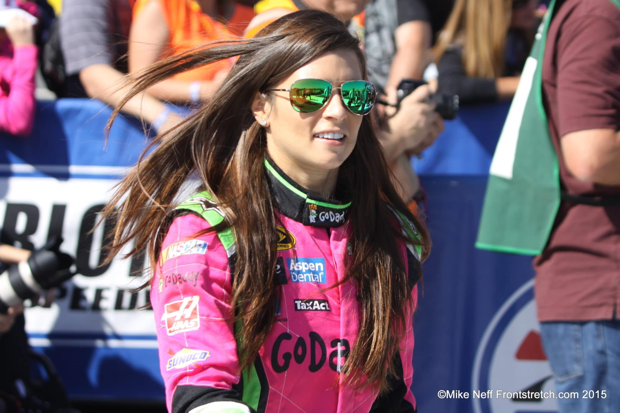 Danica Patrick Bank of America 500 2015 Charlotte Cup Mike Neff