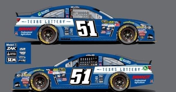 Justin Allgaier Texas Car HScott Motorsports