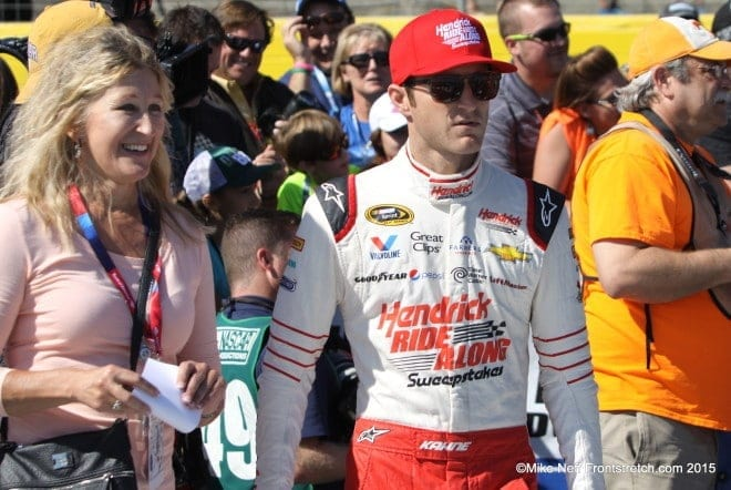 Kasey Kahne Bank of America 500 2015 Charlotte Cup Mike Neff