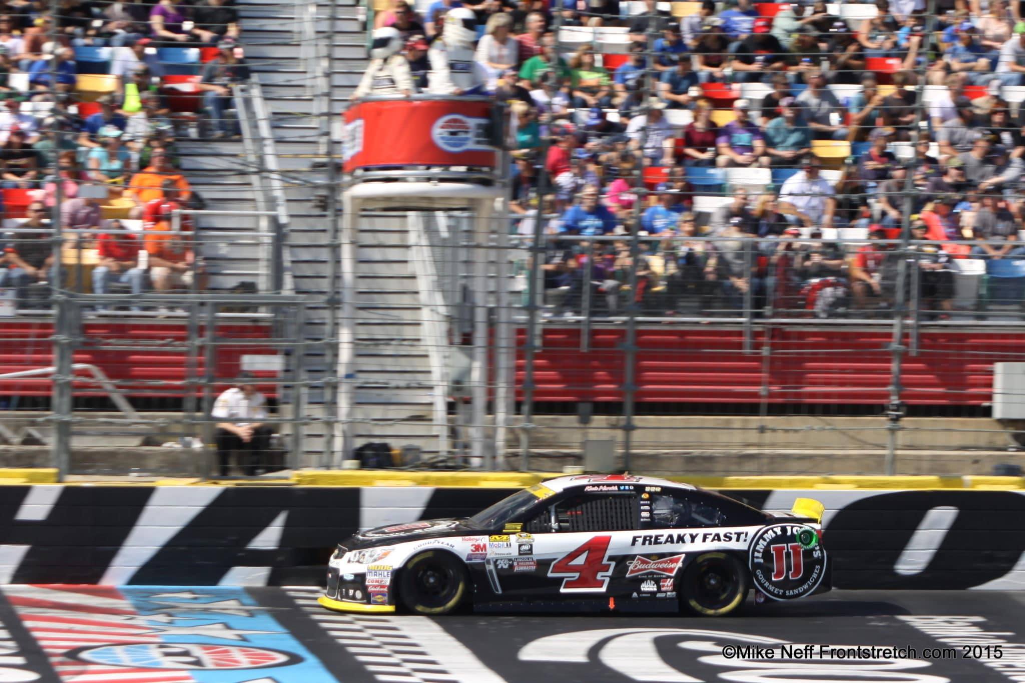 Kevin Harvick Bank of America 500 2015 Charlotte Cup Mike Neff1